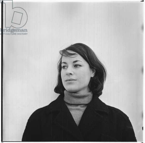 Shella Whittingham, London, UK, mid 1960's (b/w photo)