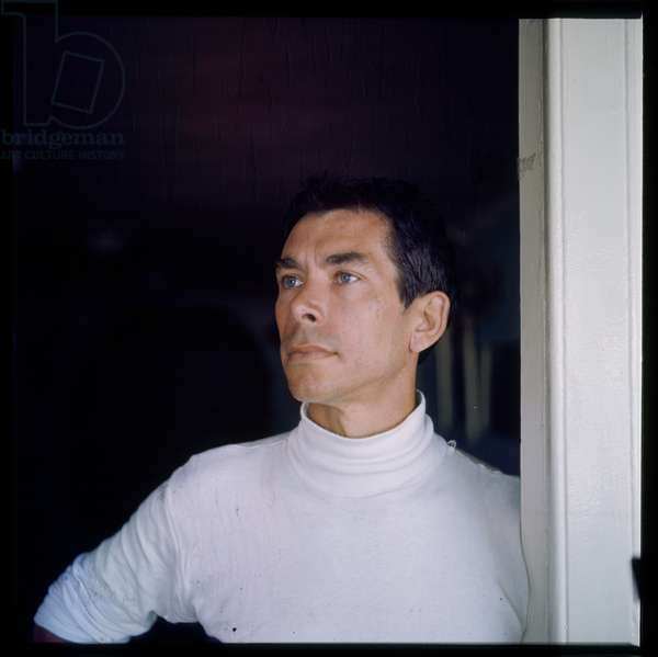 Portrait of unknown man, summer holiday, Greece early 1960's