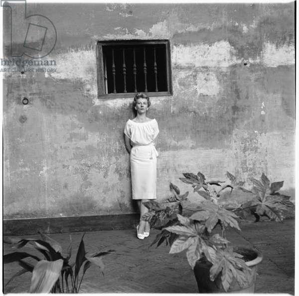 Mandy, mid 1950's (b/w photo)