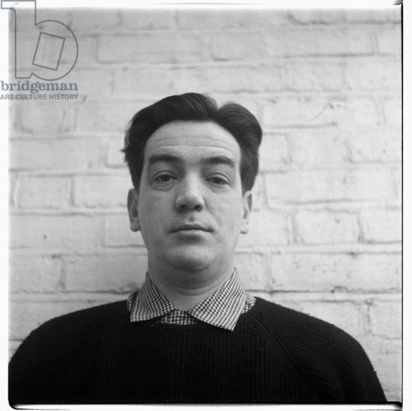 Alexander Mackendrick, portrait of film director of classic Ealing comedies Whiskey Galore, The Ladykillers & Man in a White Suit, London, UK, early 1960's (b/w photo)