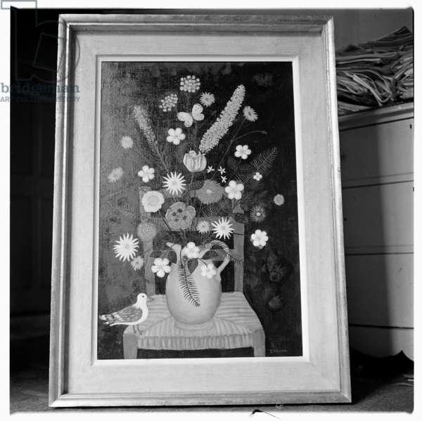 Image of painting by John Deakin, London, early 1960's