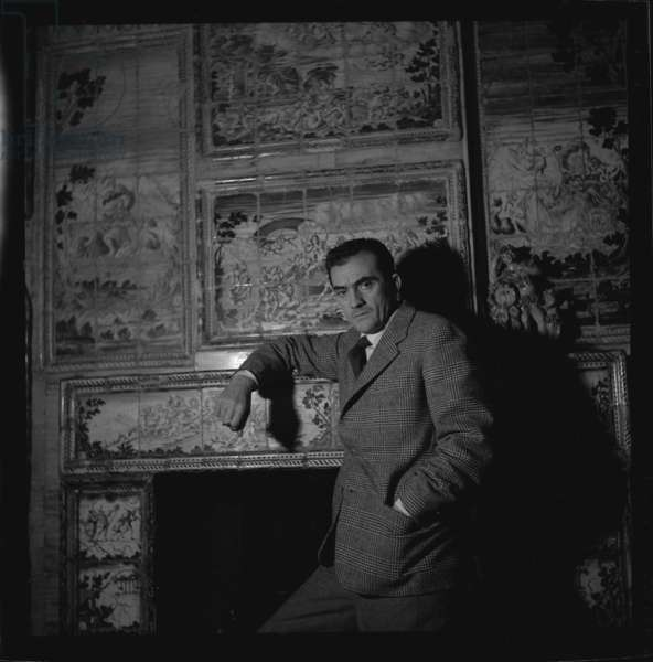 Luchino Visconti, c.1955 (b/w photo)