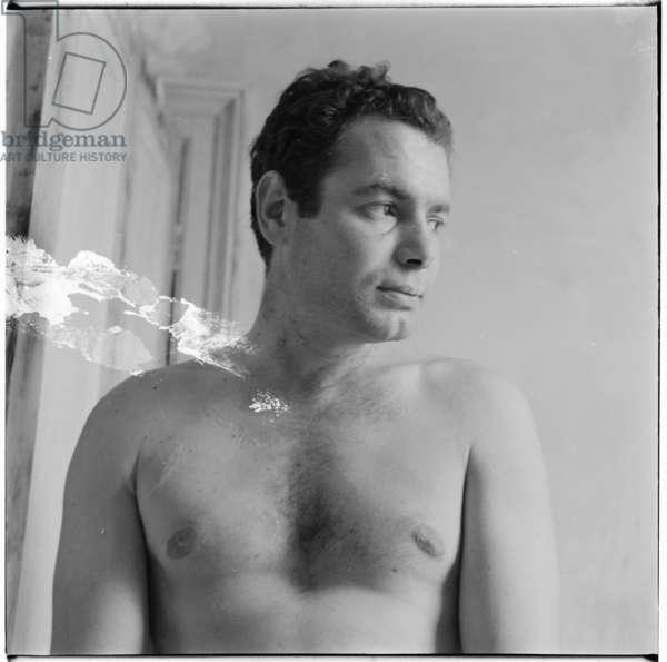 Michael Archy, London, UK, mid 1950's (b/w photo)
