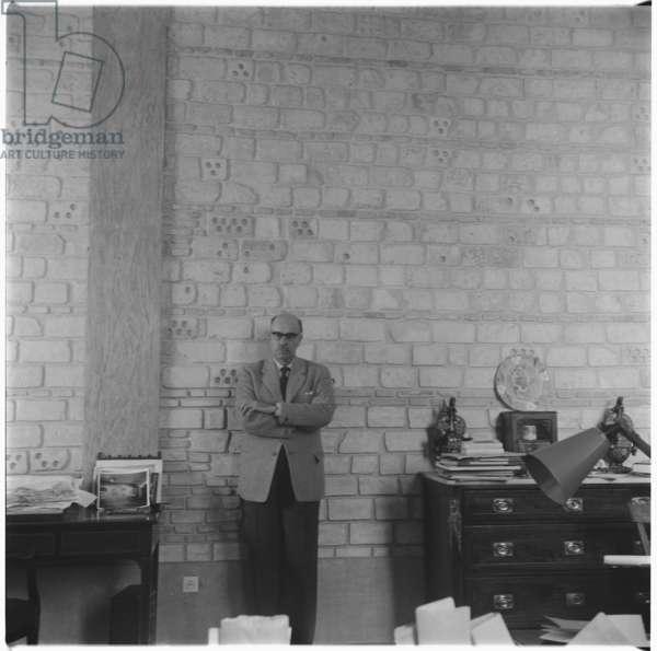 Niko Ghika, c.1955 (b/w photo)