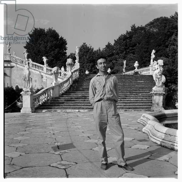 Sela SC's in Italy, c.1955 (b/w photo)