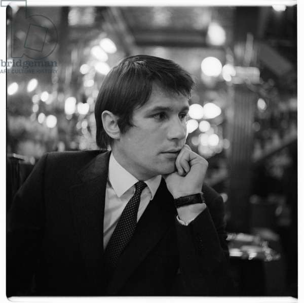 Portrait of a man of unknown details, possibly in the Salisbury pub St Martins lane, London, early 1960's