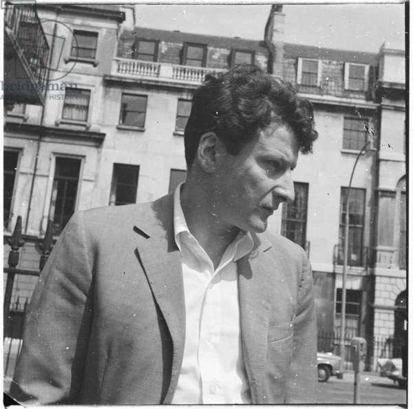 Lucian Freud, c.1964 (b/w photo)