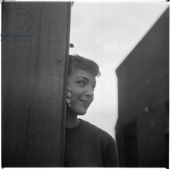 Natasha Parry, 1952-3 (b/w photo)