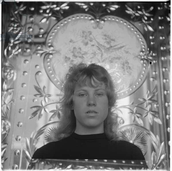Nell Dunn, 1952-3 (b/w photo)