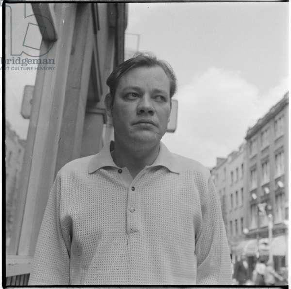 Frank Norman, c.1955 (b/w photo)