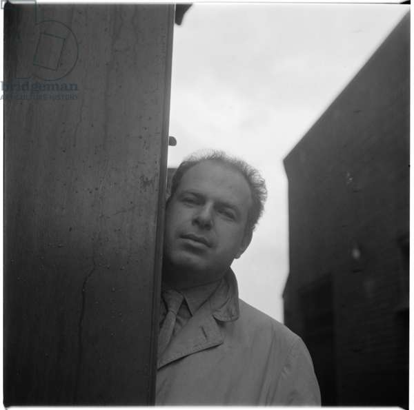 Peter Brook, 1952-3 (b/w photo)