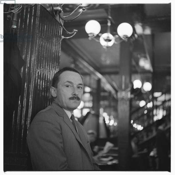 Portrait of unknown man, early 1960's (b/w photo)