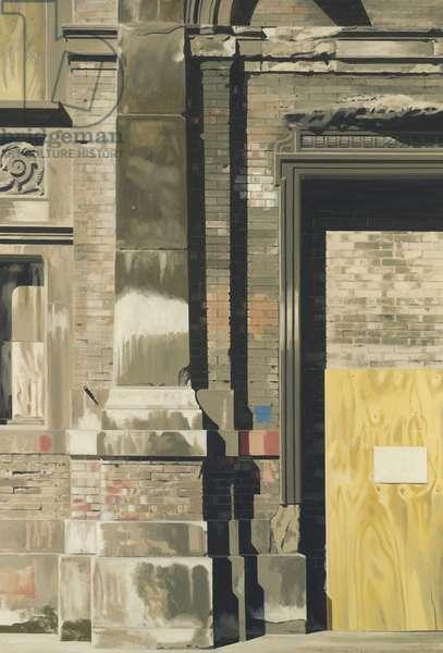 Smithfield 1 (oil on canvas)