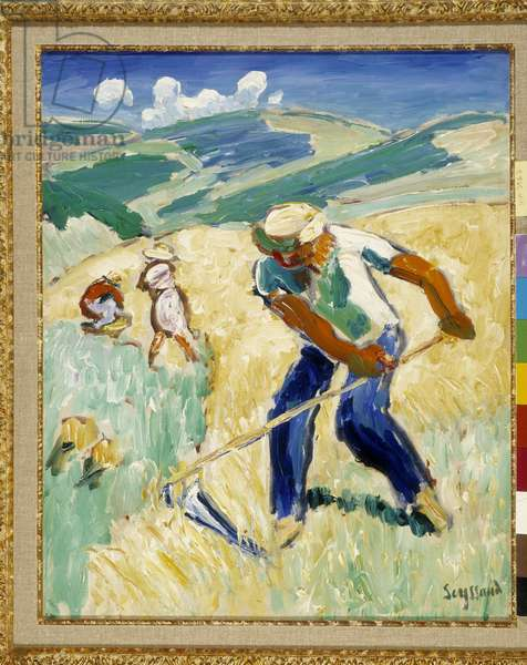 The Reaper, 1908 (oil on canvas)