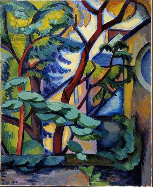 Fawn Landscape at l'Estaque, 1907 (oil on canvas)