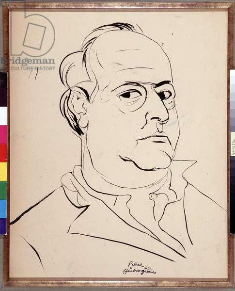 Self Portrait (ink on paper)