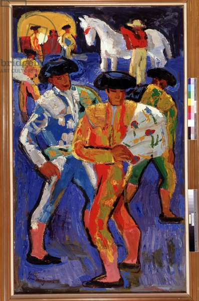 Toreros (painting)