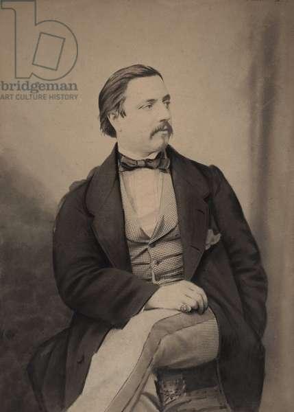 Vincenzo Sighicelli (1830-1905), 39 boulevard des Capucines Paris (b/w photo)