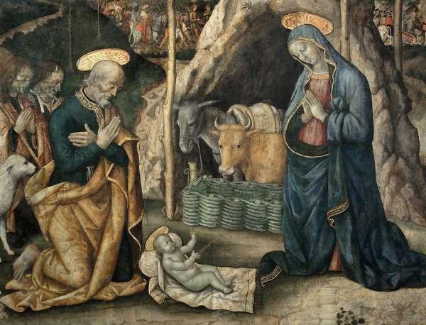Nativity, detail