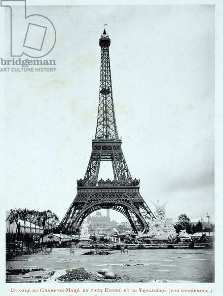 1889 Universal Exhibition: The Parc du Champ de Mars, the Eiffel Tower and the Trocadero - The 1889 Exhibition Album - Paris by Gluck