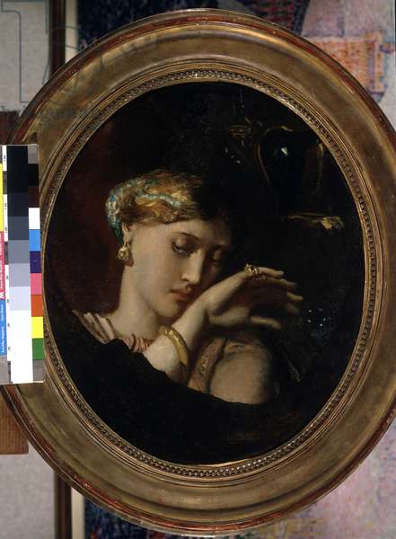 Cleopatre's maid, 1845 (oil on canvas)