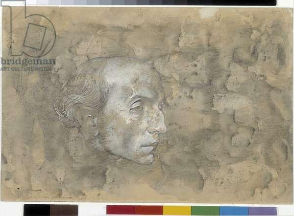 Portrait of Joe Bousquet (drawing)