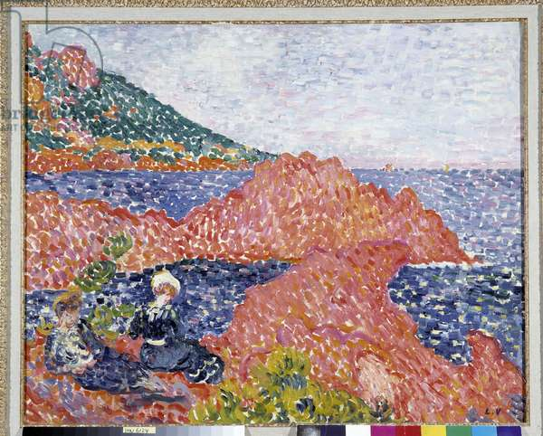 Red Rocks at Agay, tip of Cap Roux, 1903 (oil on canvas)