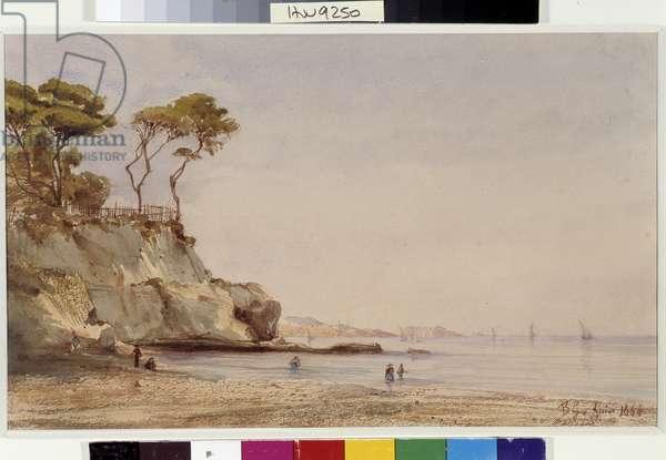 La Madrague Watercolour by Berthe Girard (19th century) 1864 Mandatory mention: Collection fondation regards de Provence, Marseille