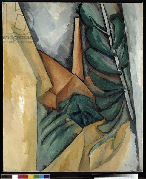 Usine a l'Estaque, 1908 (oil on canvas)