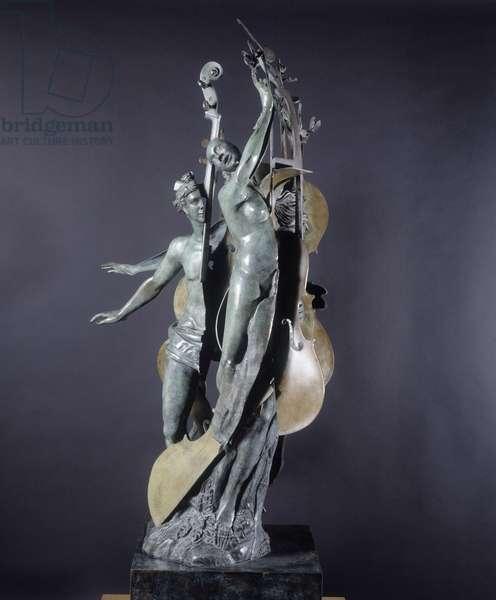 Diane and Acteon (bronze)