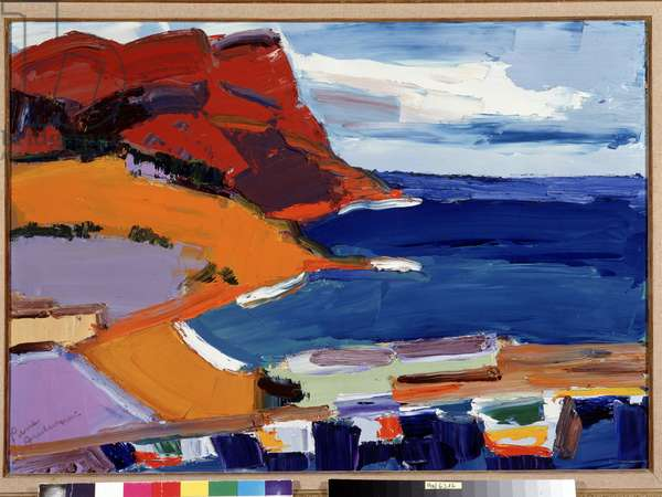 Le cap Canaille a Cassis (painting)