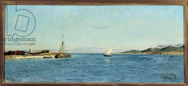 Les Martigues, 1865 (oil on canvas)