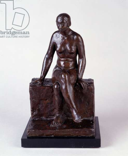Nude on a bench (sculpture)