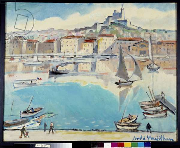 Boats in the Old Port of Marseille (painting)