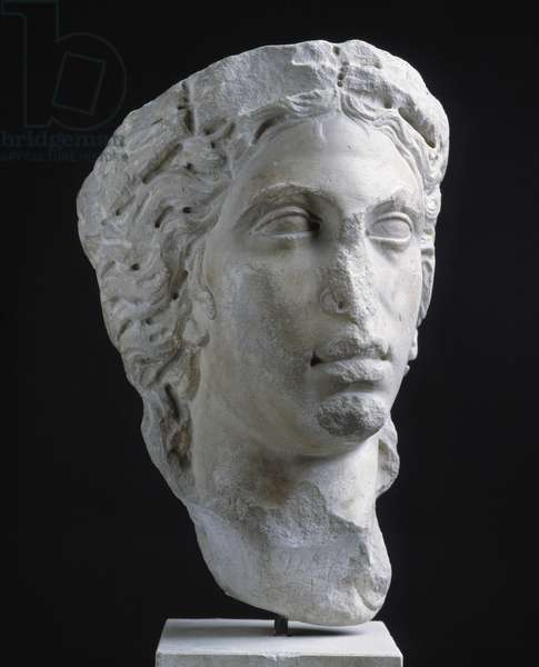 Ceres head. From Roman provinces in North Africa. Museum of Mediterranean Archaeology of Marseille