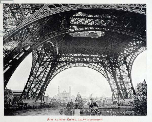 Exposition universelle de 1889: Sous la Tour Eiffel - L'album de l'exposition de 1889 - Paris by Gluck