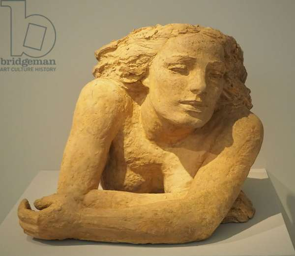Girl at the window, 1928 (sculpture)