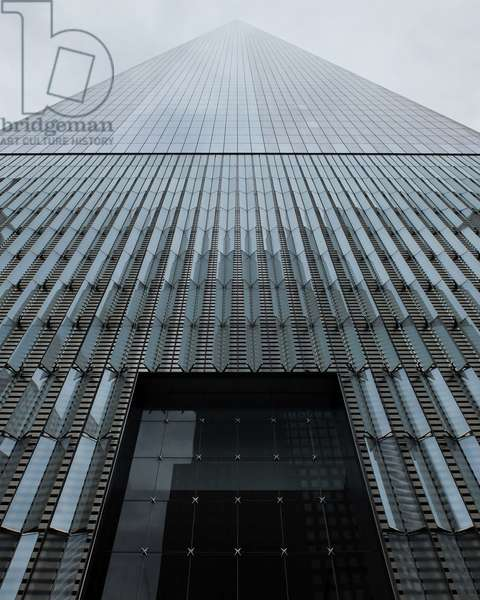 New York, One World Trade Center in Financial District (2014), architect Daniel Libeskind and David Childs