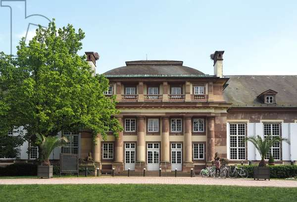 Strasbourg, Parc de l'Orangerie, the pavilion of Josephine de Beauharnais, architect Valentin Boudhors, built between 1804 and 1807.