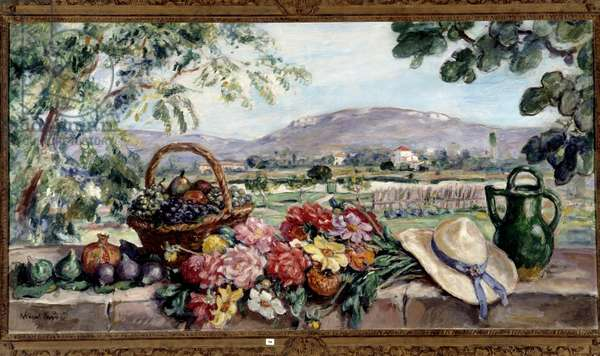 Composition with flowers and fruits, 1925 (painting)