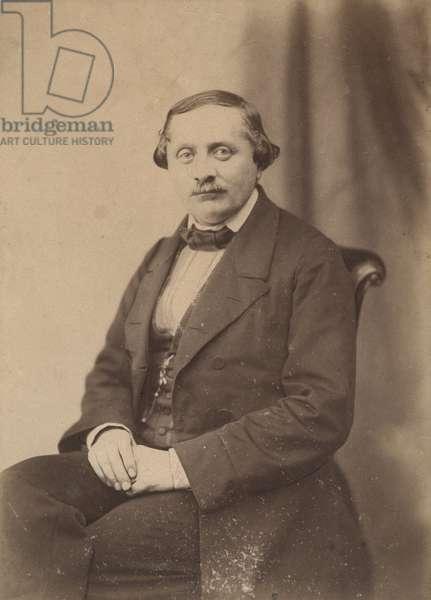 Adrien Decourcelle? (1821-1892) 39 boulevard des Capucines Paris in 1847 (b/w photo)