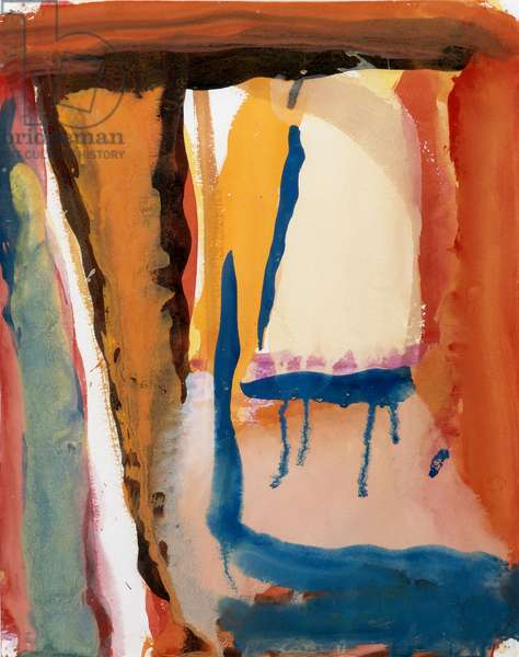 Untitled, 1975 (gouache on paper)