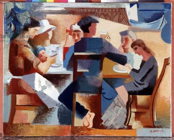 Sailor's Breakfast, 1929 (oil on canvas)