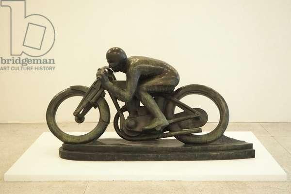 Motorcyclist (Sunbeam) 1924 (bronze)