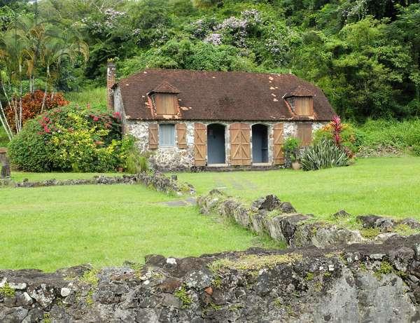 Trois Ilets, Domaine de la Pagerie, birthplace of Marie Joseph-Rose Tascher de la Pagerie, future Josephine de Beauharnais, wife of Napoleon Bonaparte - Martinique, island of the French Antilles