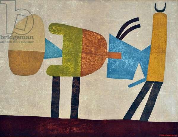 The allusion, 1964 (oil on canvas)