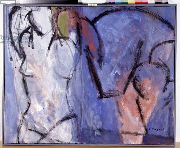 The Blue Venus, 2000 (oil on canvas)