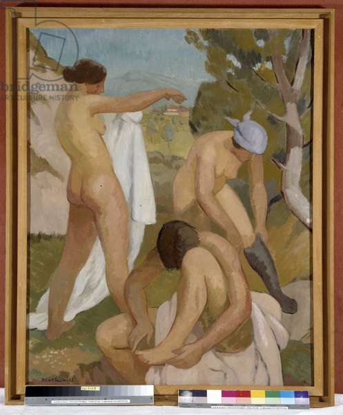 The Three Bathers, 1933 (oil on canvas)