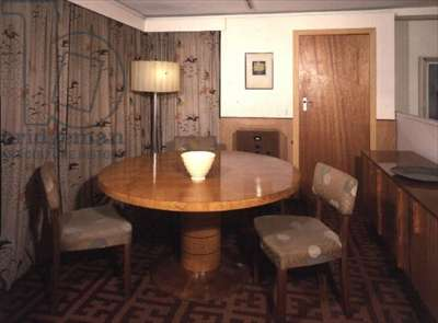 The Russell dining room from 'Oakbeams'