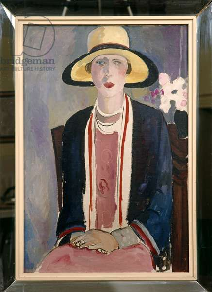 Portrait of Madge Garland, 1926 (oil on canvas)